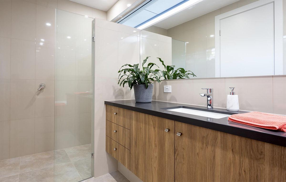Custom Home, New Home, Family Home, Design, Builder, Single Storey, Blackwood, Adelaide Hills, Vanity, Bathroom