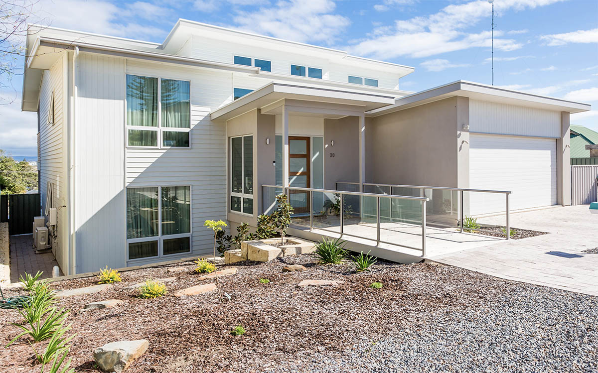Custom Home, New Home, Family Home, Design, Builders, Two Storey, Port Noarlunga, Fleurieu, Front View