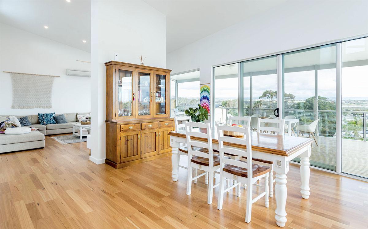 Custom Home, New Home, Family Home, Design, Builders, Two Storey, Port Noarlunga, Fleurieu, Living Area, Large Windows