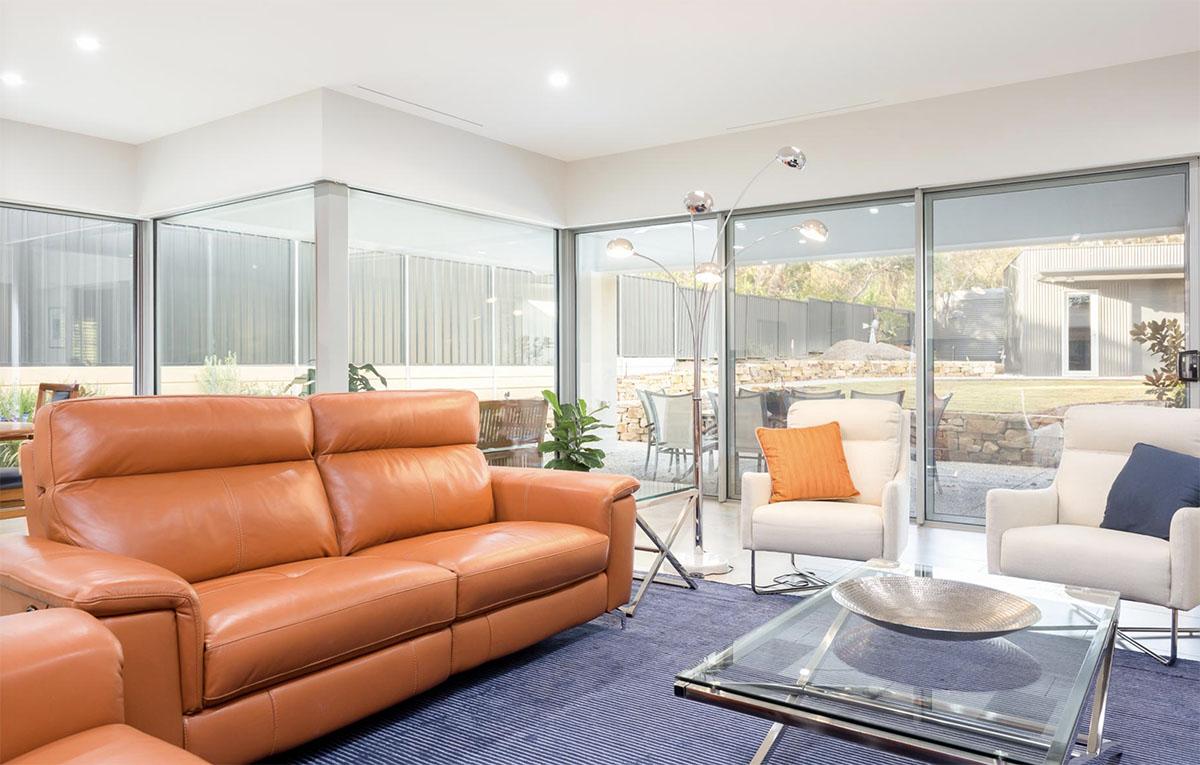 Custom Home, New Home, Family Home, Design, Builder, Single Storey, Blackwood, Adelaide Hills, Light, Open, Large Windows