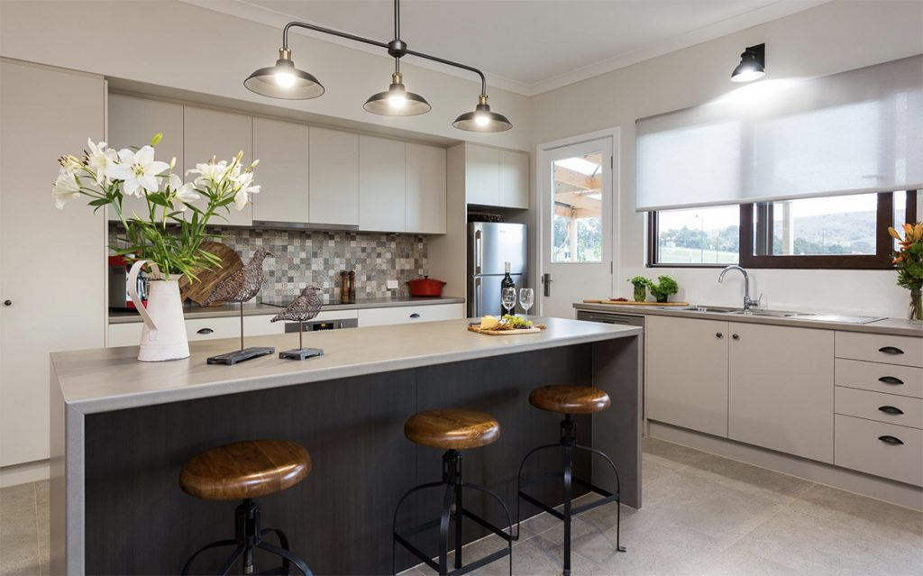 Award Winning, Custom Home, New Home, Family Home, Energy Efficient, Design, Builder, Beyond, Hayborough, Fleurieu, Kitchen, Splashback, Feature Lights
