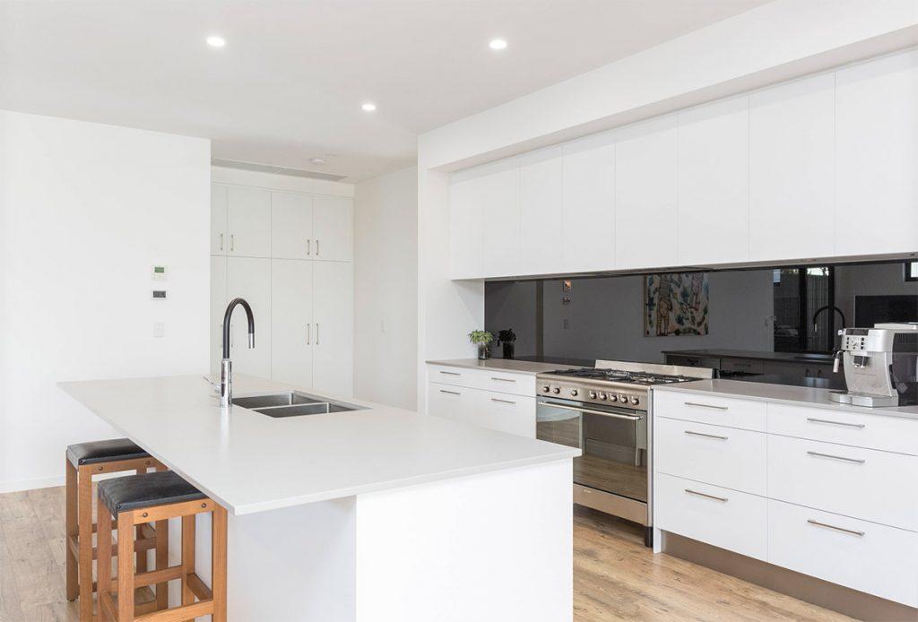 Custom Home, New Home, Family Home, Design, Builders, Single Storey, Port Elliot, Fleurieu, Kitchen, Gas Stove Top, Splashback
