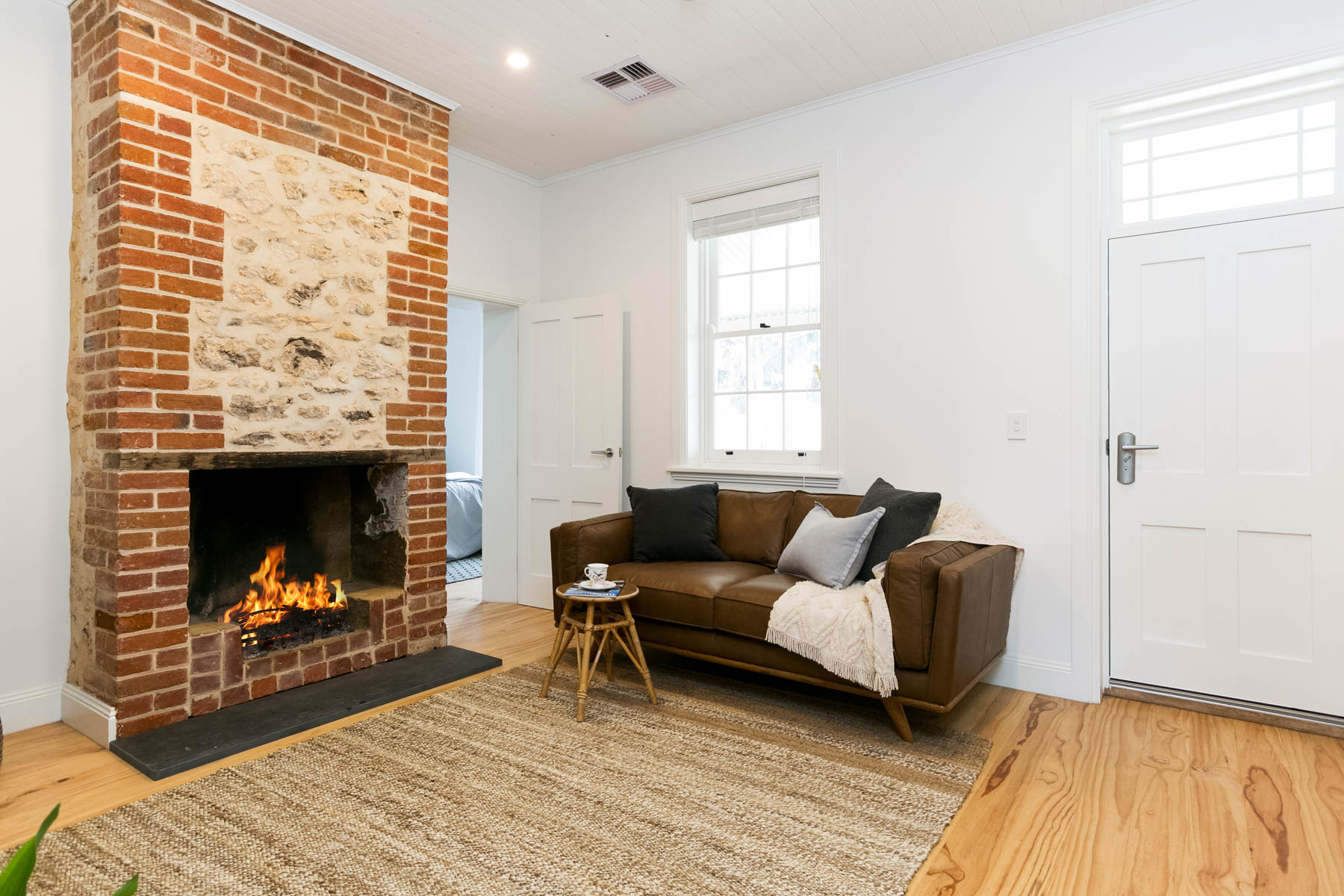 Renovation, Restoration, Extensions, Design, Builders, Goolwa, Fleurieu, Cottage, Award Winning, Living Area, Fireplace, Wood Fire