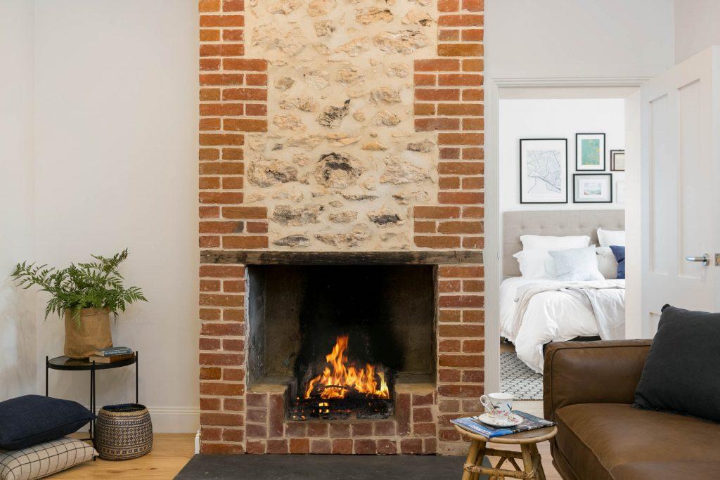 Renovation, Restoration, Extensions, Design, Builders, Goolwa, Fleurieu, Cottage, Award Winning, Fireplace, Wood Fire, Living Area