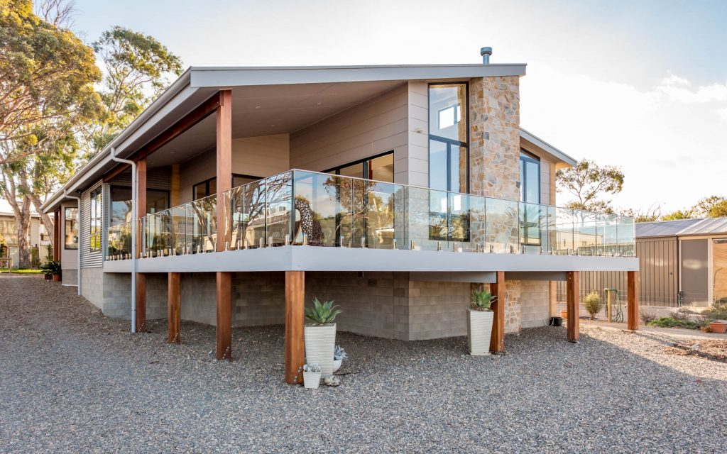 New Home, Custom Home, Family Home, Design, Builders, Award Winning, Single Storey, Goolwa, Fleurieu, Frameless Glass, Balustrades, Country Living