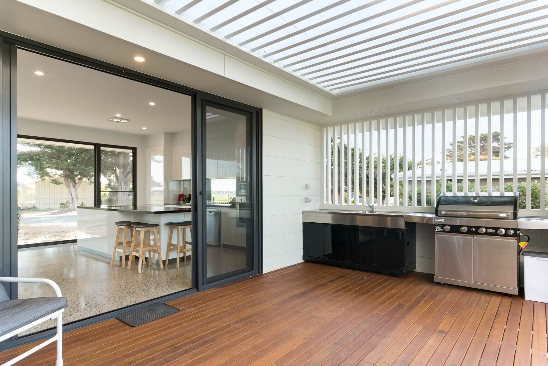 New Home, Custom Home, Family Home, Design, Builders, Award Winning, Single Storey, Goolwa, Fleurieu, Outdoor living, Decking