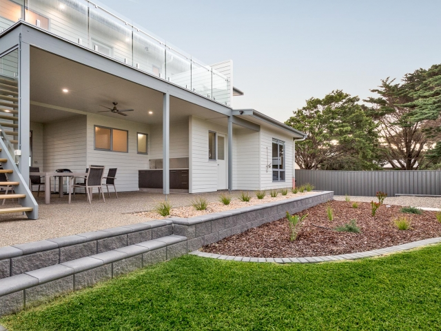Award Winning, Custom Home, New Home, Two Storey, Builders, Design, Middleton SA, Staircase, Outdoor Living, Balcony, Balustrades