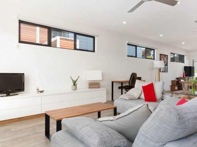 Custom Home, New Home, Single Storey Home, Builders, Design, Port Elliot, Fleurieu, Living Area, Laminated Floor