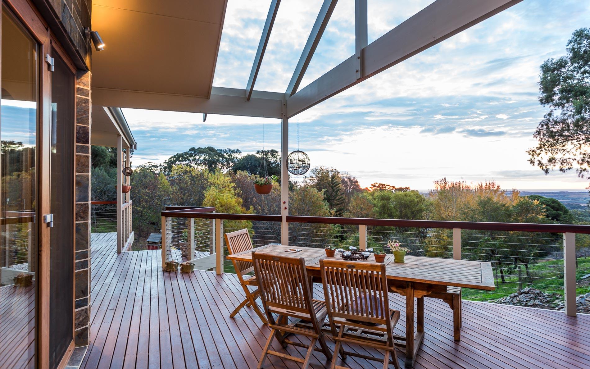 Custom Home, Renovation, Extensions, Restoration, Builders, Design, Willunga, Fleurieu, Decking, Outdoor Living, Balustrades, Beautiful View