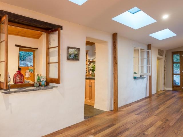 Custom Home, Renovation, Extensions, Restoration, Builders, Design, Willunga, Fleurieu, Cottage, Feature Front Door, Kitchen, Wooden Window Frames