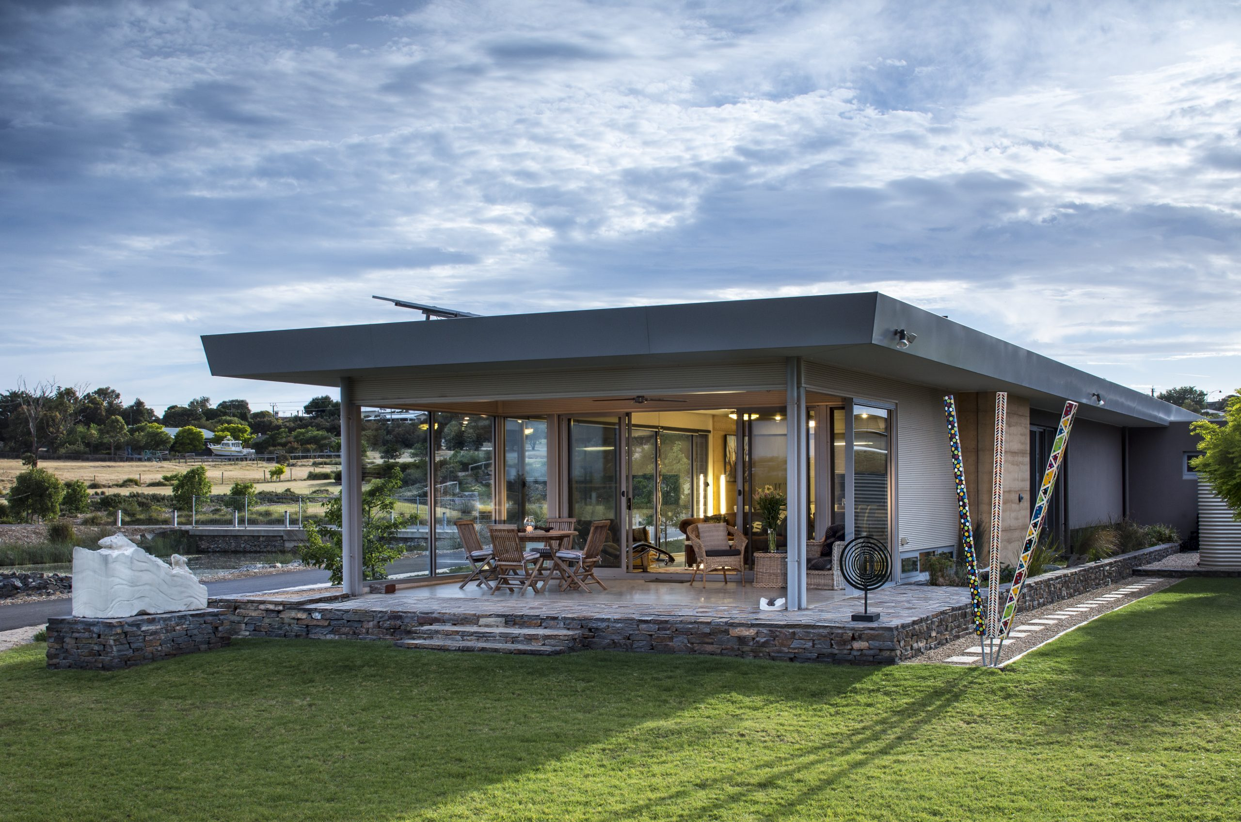 Custom Home, New Home, Family Home, Builders, Design, Beyond, Chiton, Fleurieu, Energy Efficient, Single Storey, Front View